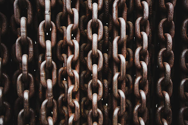 Oldl cadena textura - foto de stock