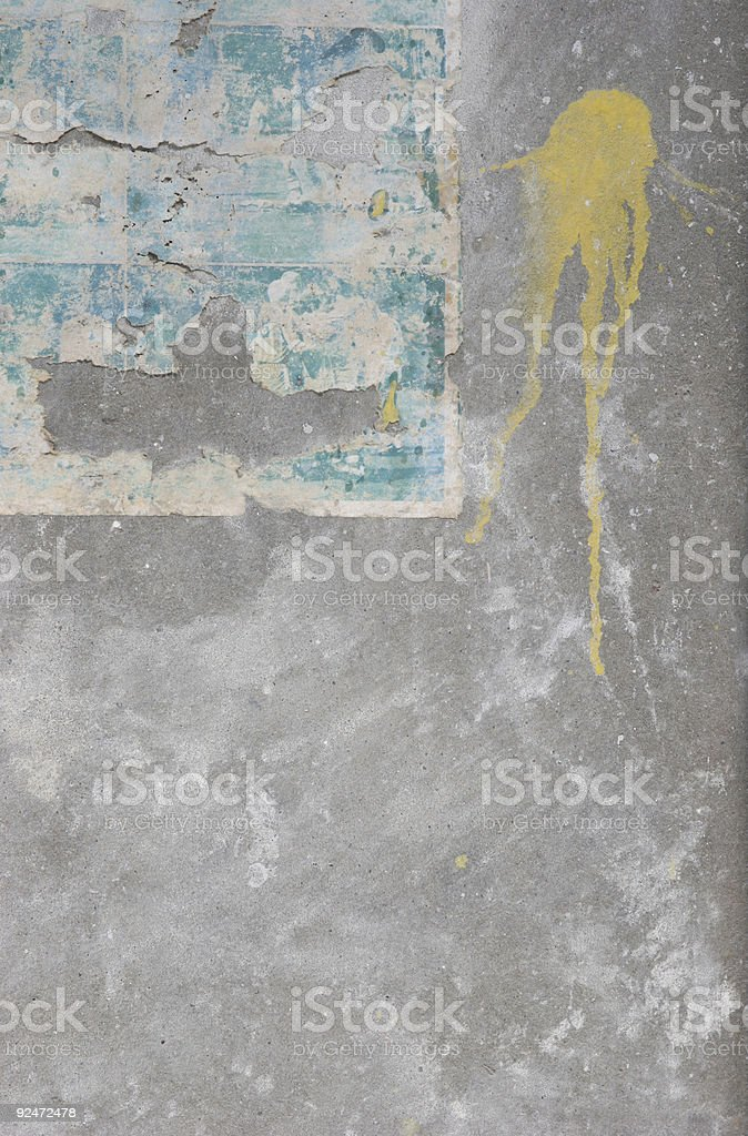 old-paper-on-wall2 royalty-free stock photo