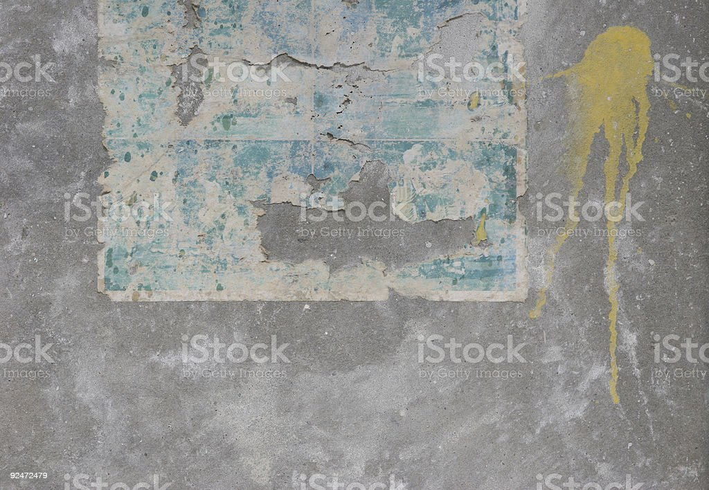 old-paper-on-wall4 royalty-free stock photo