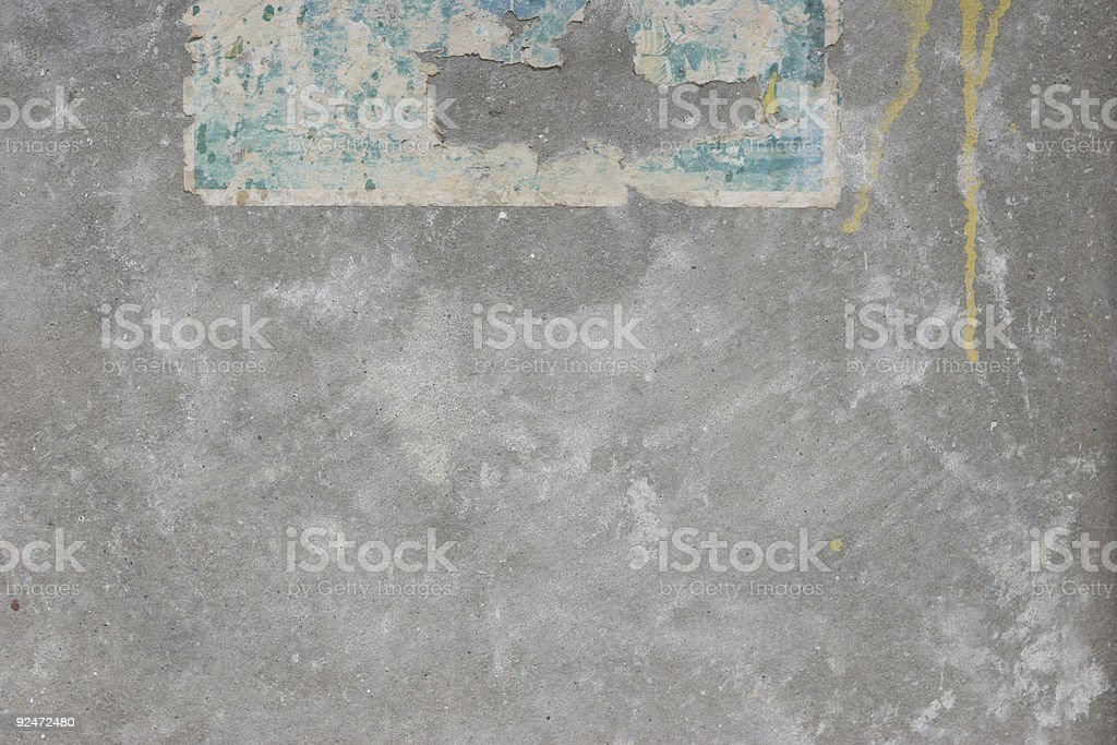 old-paper-on-wall5 royalty-free stock photo