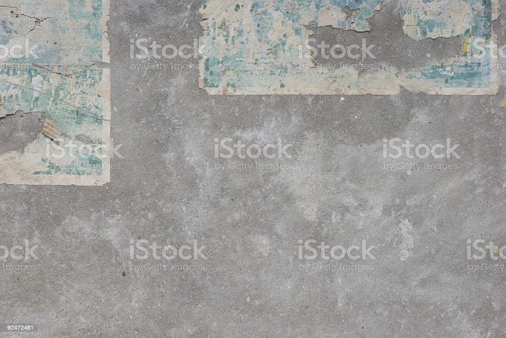 old-paper-on-wall6 royalty-free stock photo