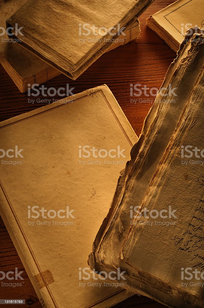 olds books 01 royalty-free stock photo