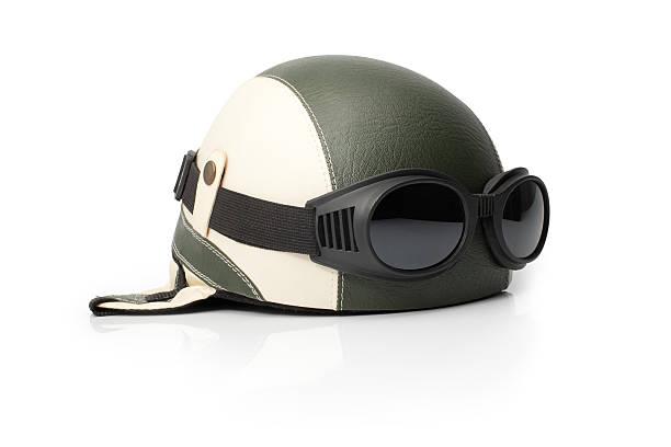 Oldschool casco - foto de stock