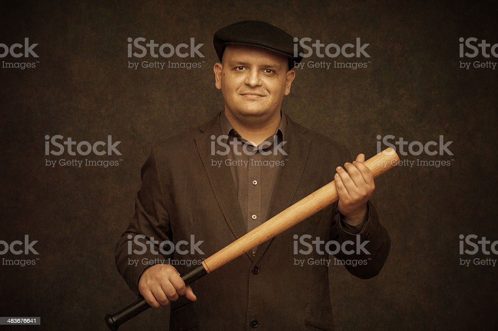 oldschool hooligan stock photo
