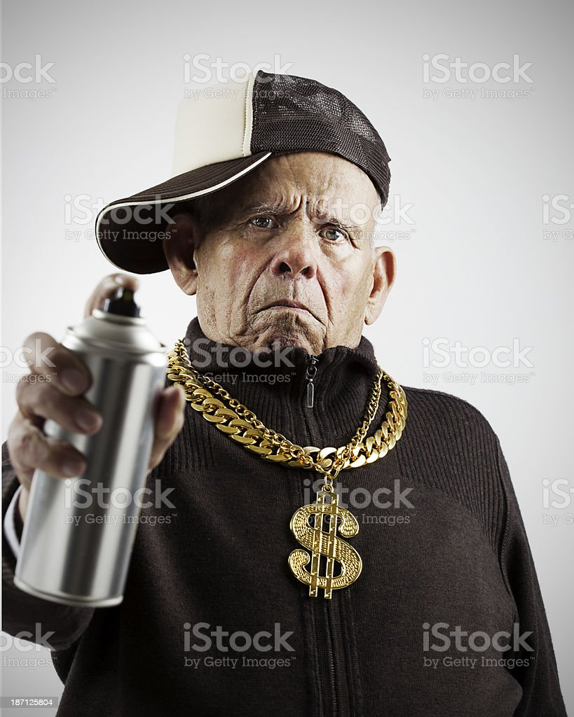 Oldschool stock photo
