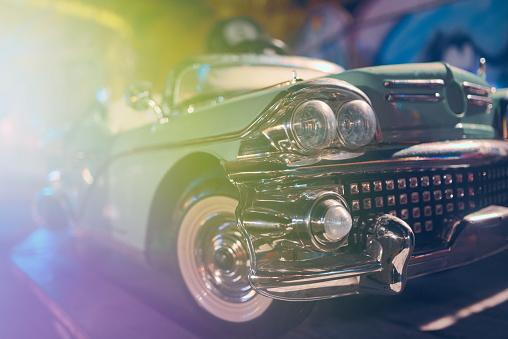 Oldsmobile Toy Closeup