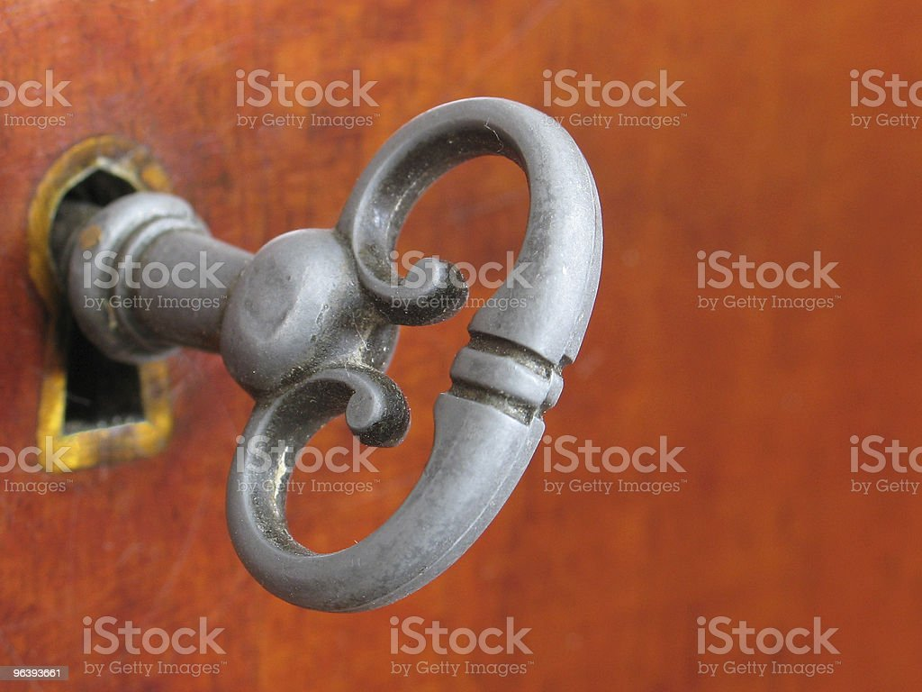 Old-Style Furniture Key stock photo