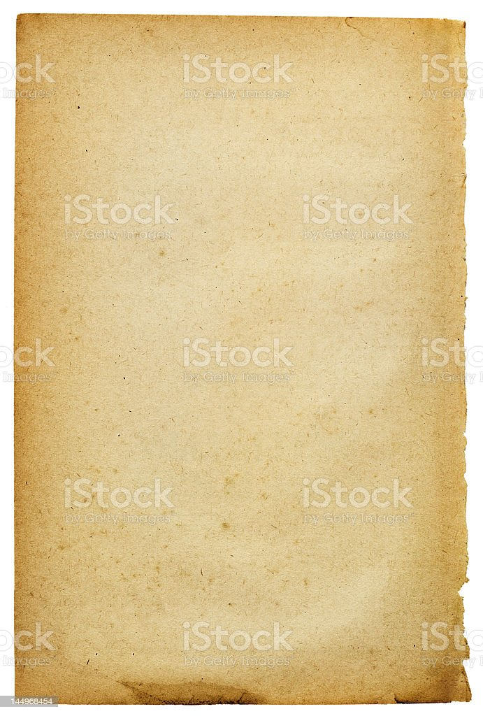 Old-style paper royalty-free stock photo