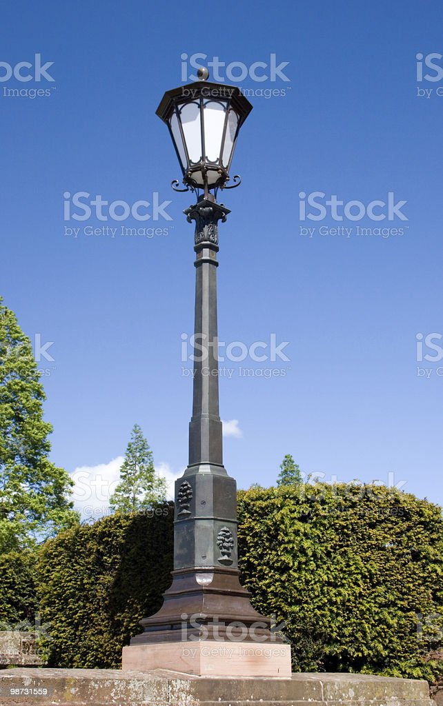 Old-Style Street Lamp royalty free stockfoto