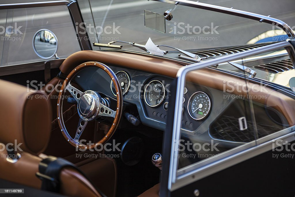 Old-timer car royalty-free stock photo