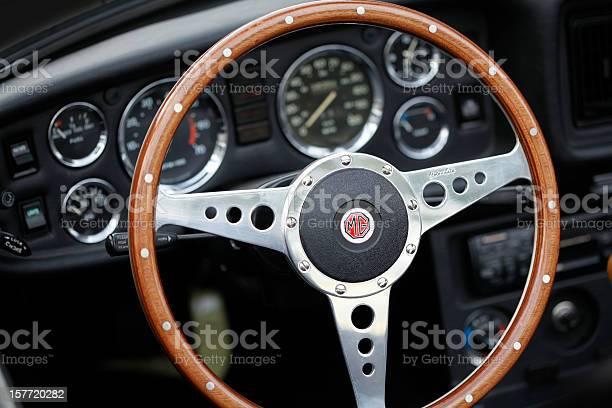 MG Oldtimer Cockpit