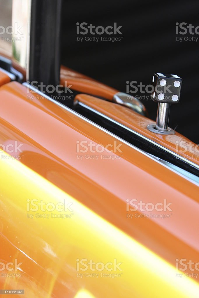 Oldtimer Door royalty-free stock photo