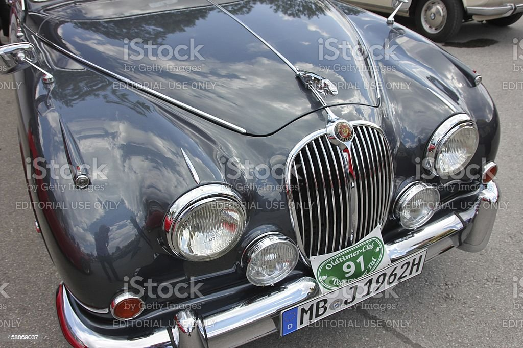 Oldtimer Jaguar MK II royalty-free stock photo