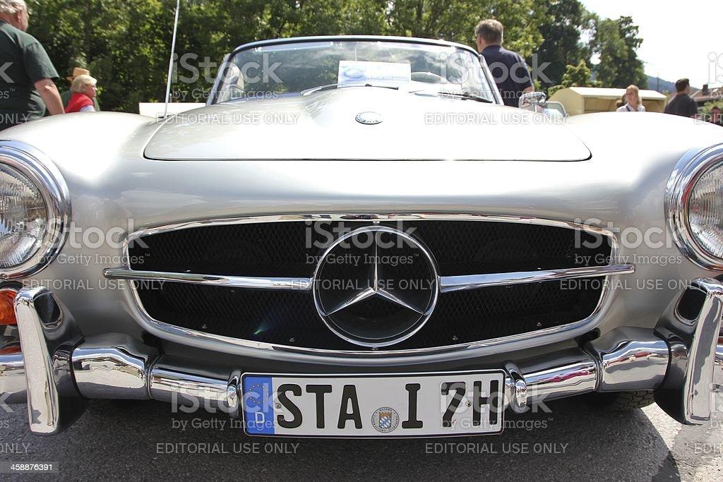 Oldtimer Mercedes Cabrio190 SL stock photo