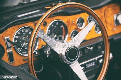 Oldtimer steering wheel