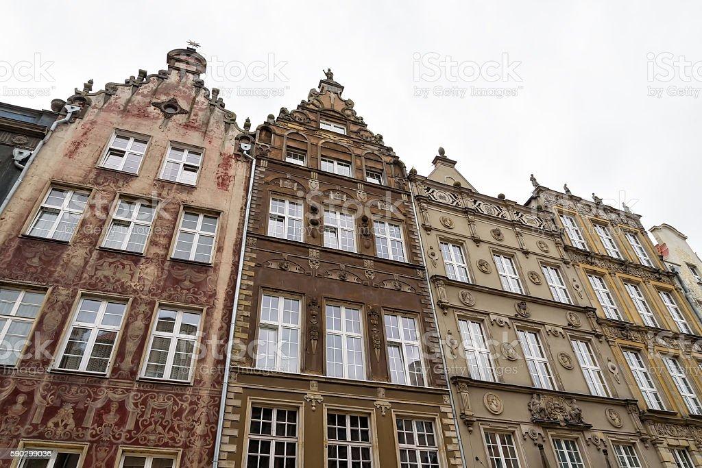 Oldtown in Gdansk Стоковые фото Стоковая фотография