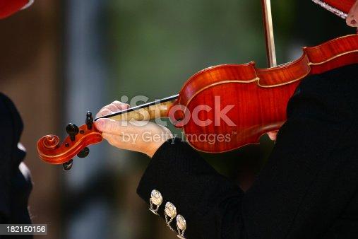 Mariachi Band Violinist