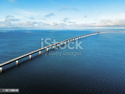 Olesund bridge - connecting Malmo and Copenhagen