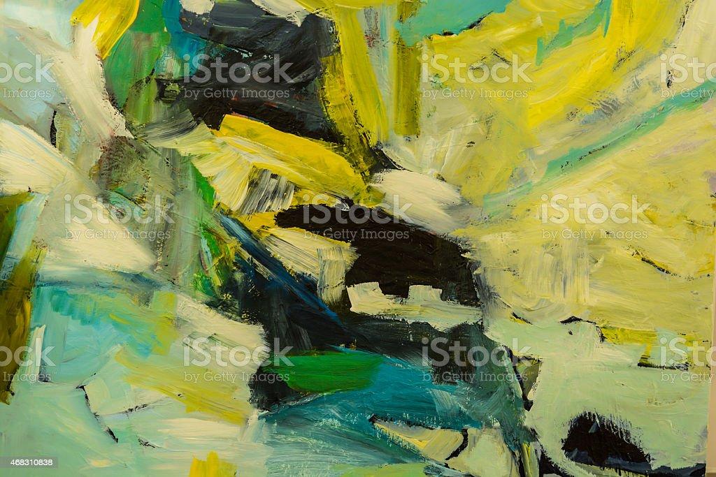 Oli paint background stock photo