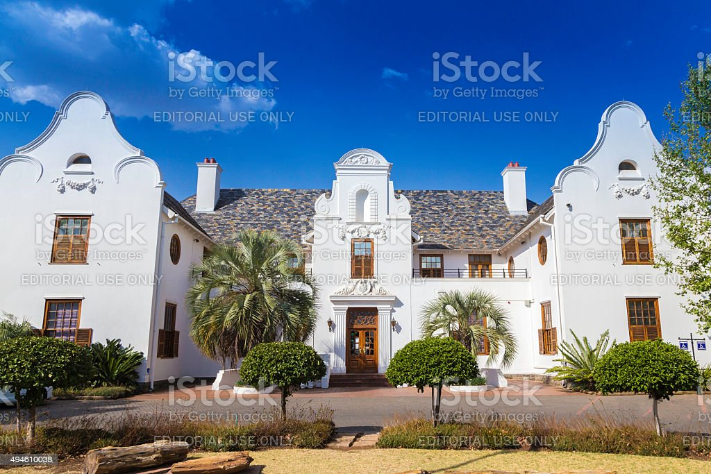 Oliewenhuis musem and art gallery in Bloemfontein stock photo