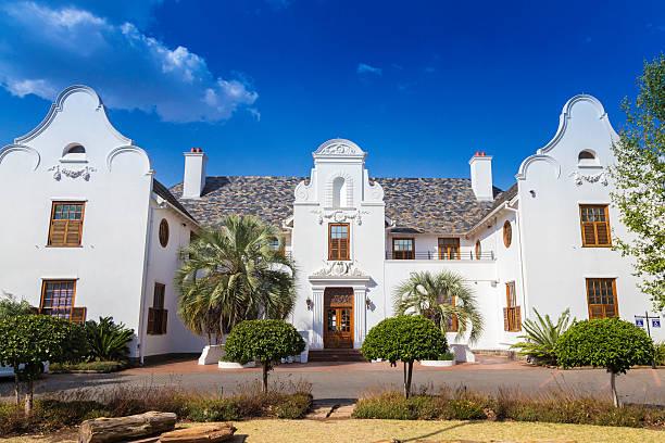 Oliewenhuis musem and art gallery in Bloemfontein stock photo