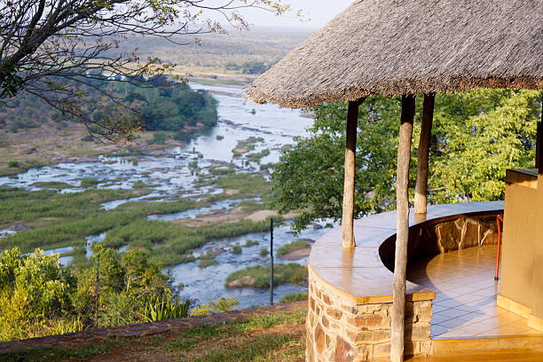 Olifants camp in Kruger Park, South Africa  kruger national park stock pictures, royalty-free photos & images