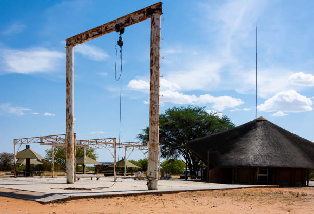 Olifantsrus abbatoir, Namibia. stock photo