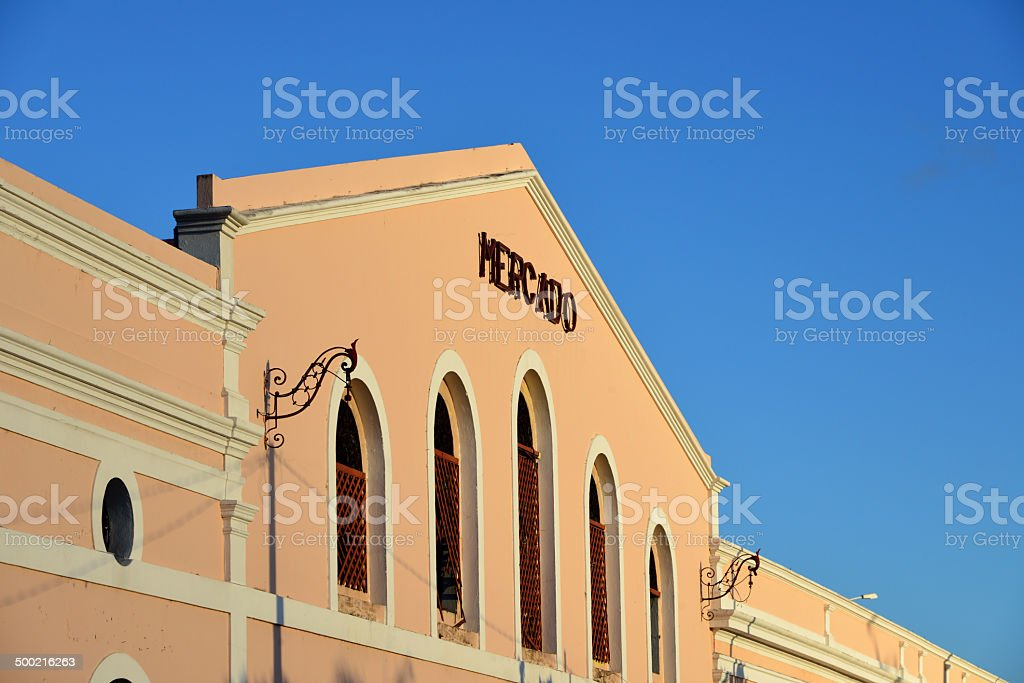 Olinda, Brazil: the market royalty-free stock photo