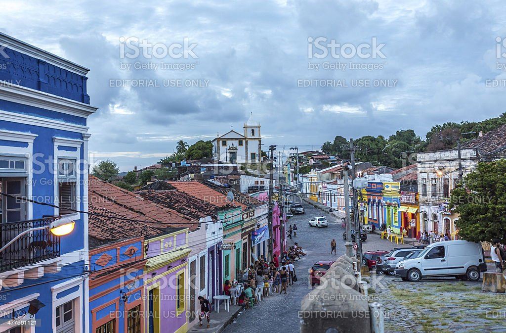 Olinda,Brazil stock photo