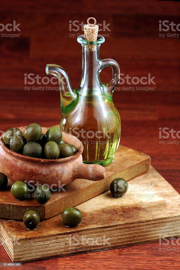 olio di oliva stock photo