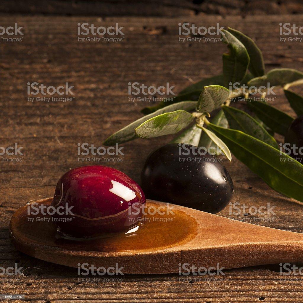 olio e olive royalty-free stock photo