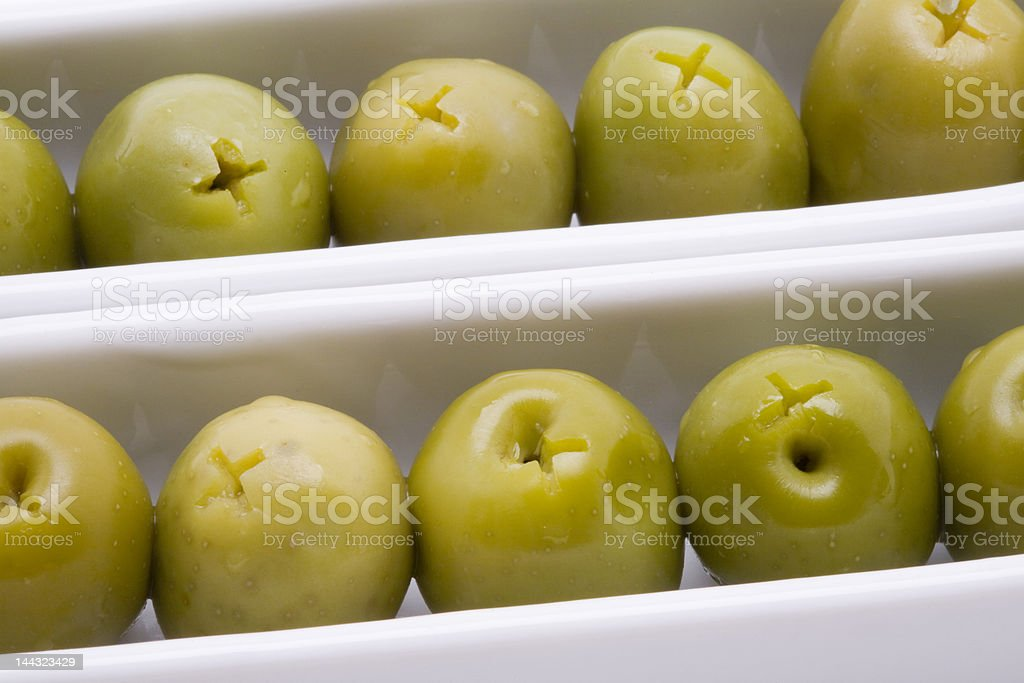 Olive appetizer royalty-free stock photo