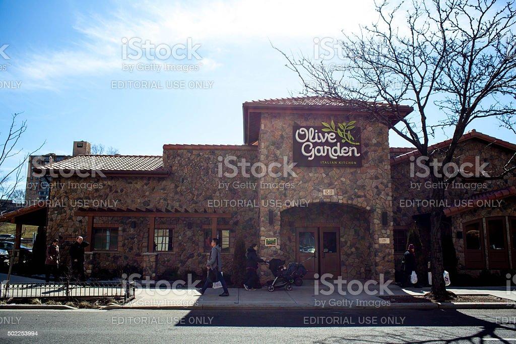 olive garden restaurant in elmhurst queens royalty free stock photo new york - Olive Garden New York