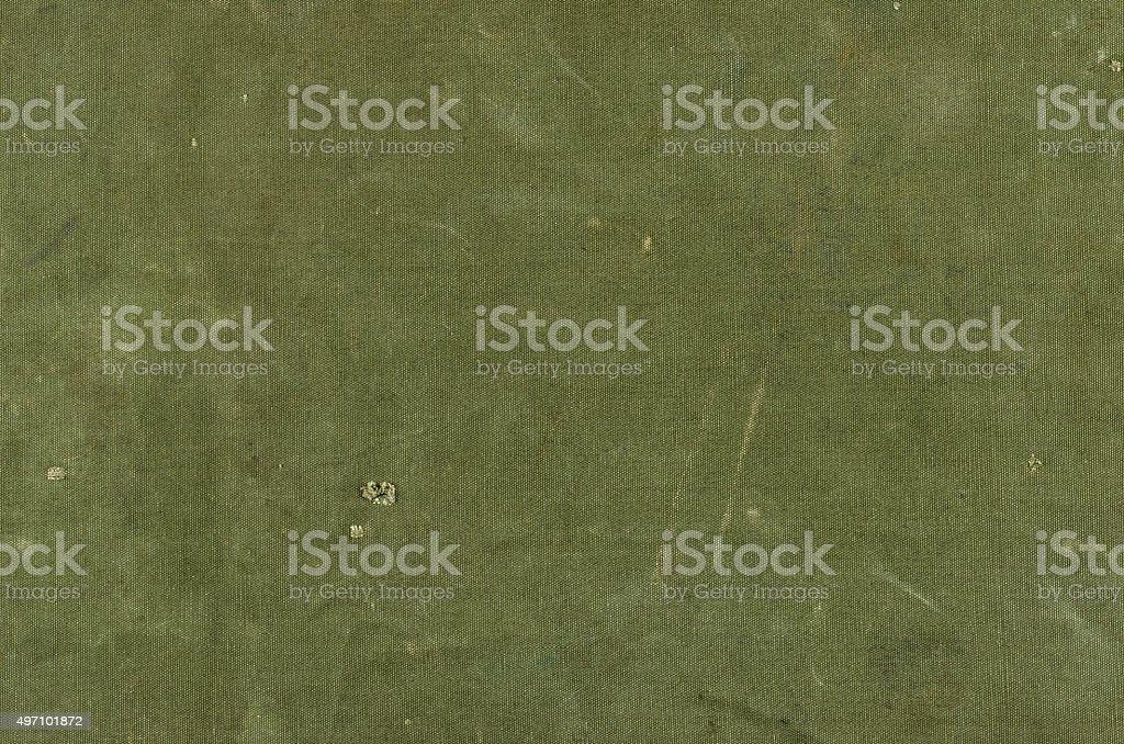 Оливковый зеленый хлопок текстуру с царапины ответ прорезями Jimmy стоковое фото