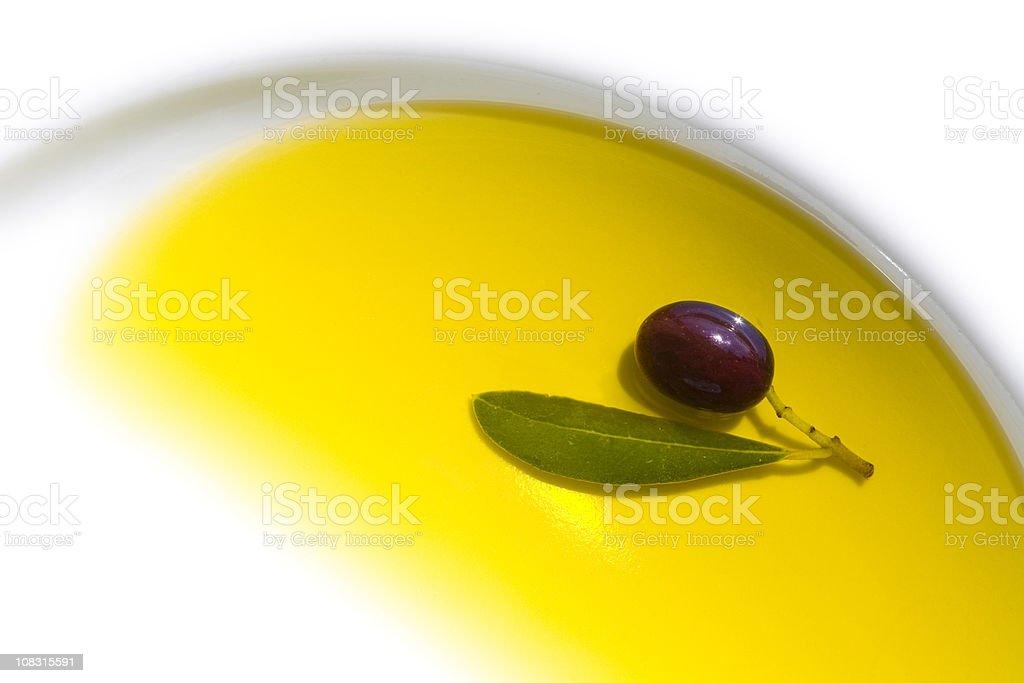 Com azeite de oliva - foto de acervo