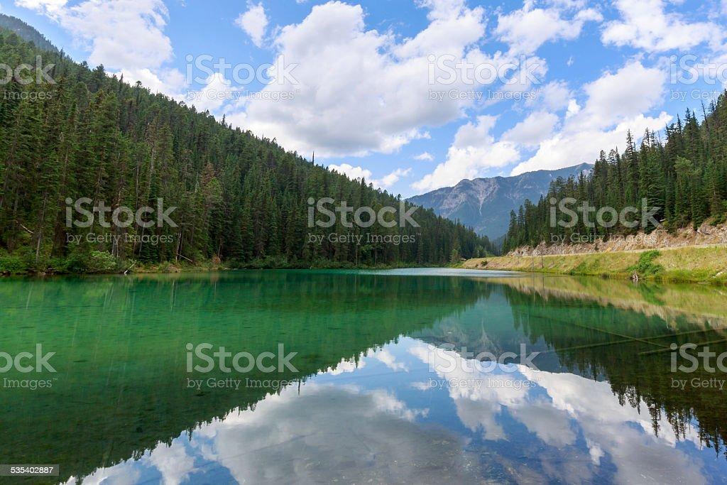 Olive Lake stock photo