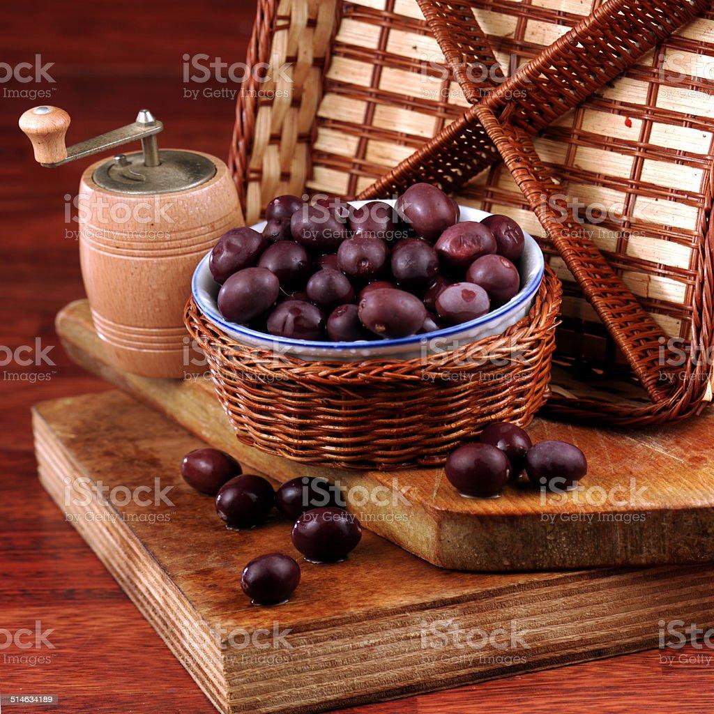 olive nere stock photo