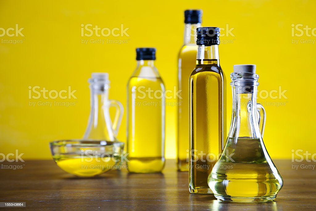 Olive oil and olives royalty-free stock photo