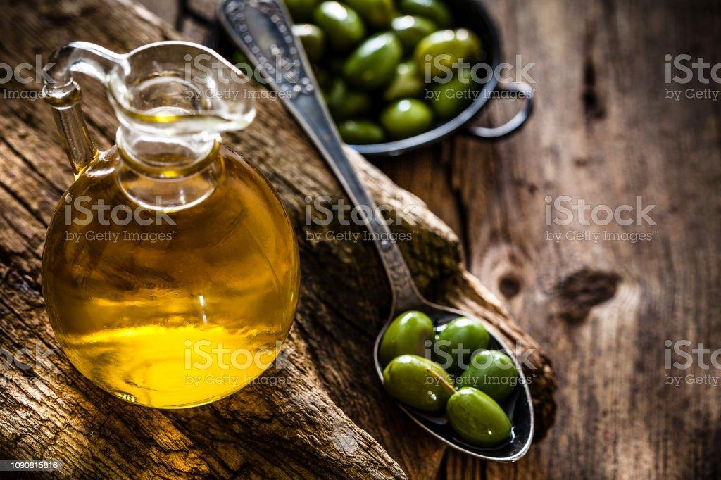 Olivenöl zum braun werden