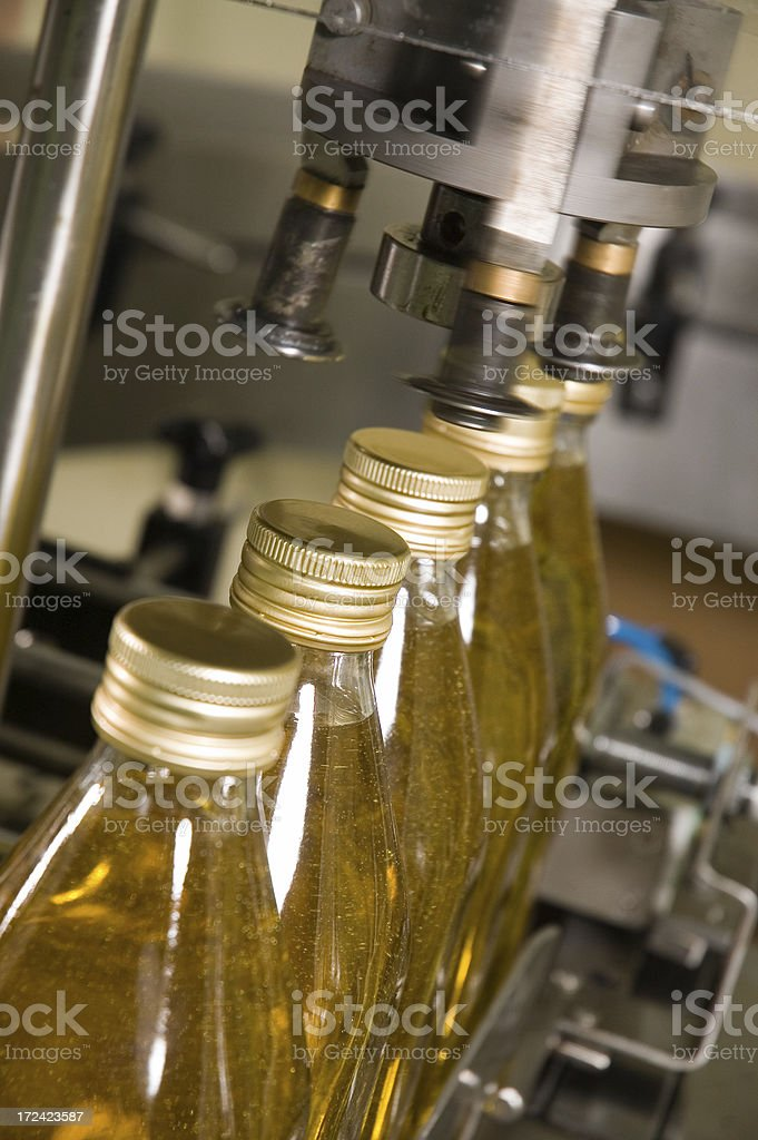 olive oil factory royalty-free stock photo
