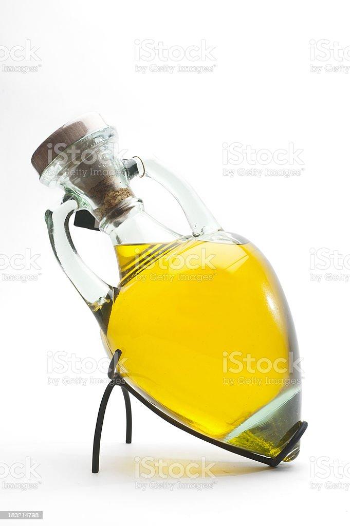 L'huile d'Olive dans un verre Amphore - Photo