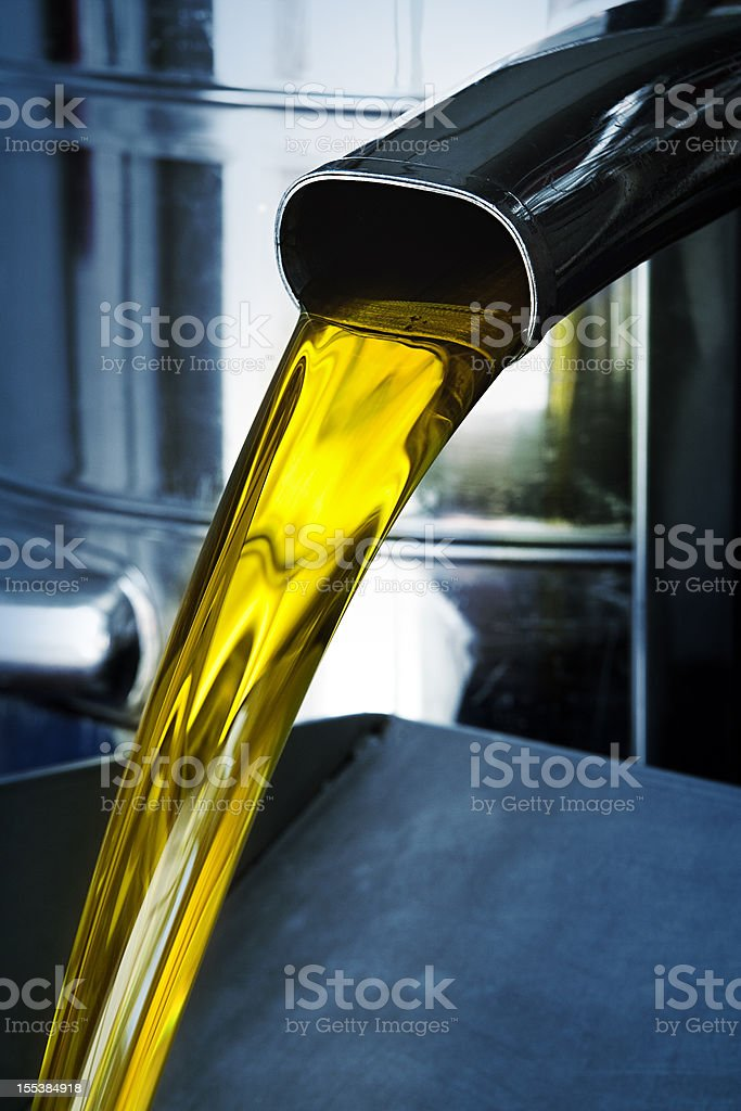 Olive oil production royalty-free stock photo