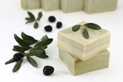 Olive Oil Soap Stock Photo - Download Image Now