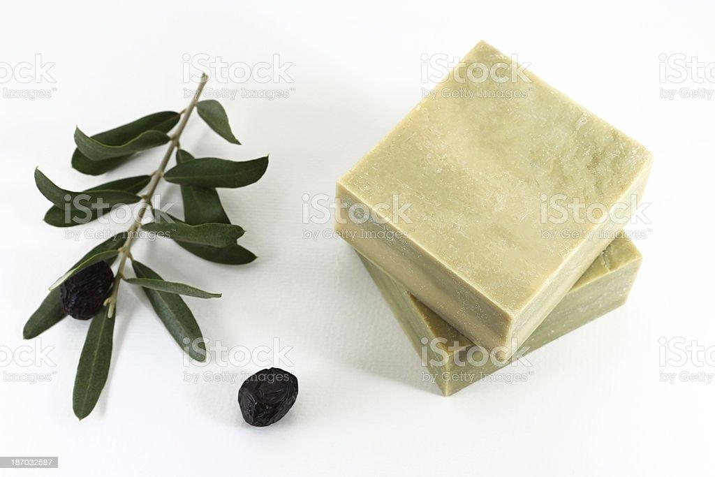 Olivenöl-Seife – Foto