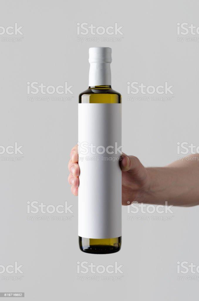 Download Olive Sunflower Sesame Oil Bottle Mockup Blank Label Male ... Free Mockups