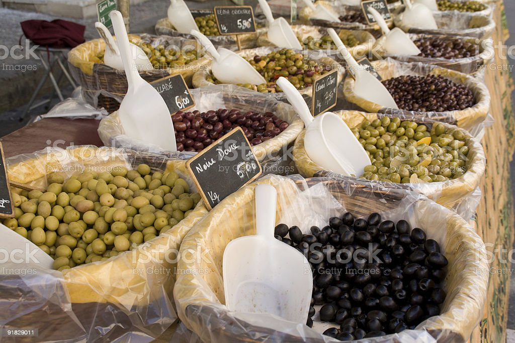 Olives galore stock photo