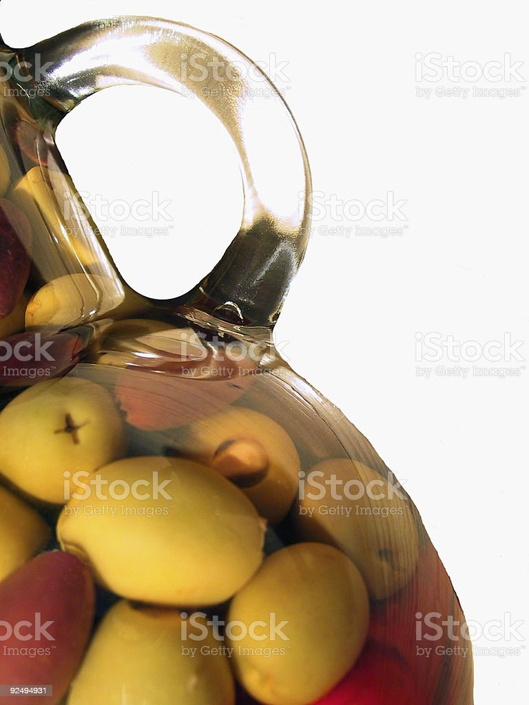 Olives in Jar2 royalty-free stock photo