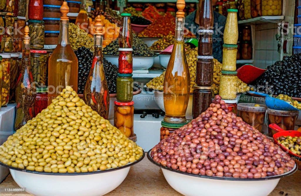 Oliven - Lizenzfrei Blatt - Pflanzenbestandteile Stock-Foto