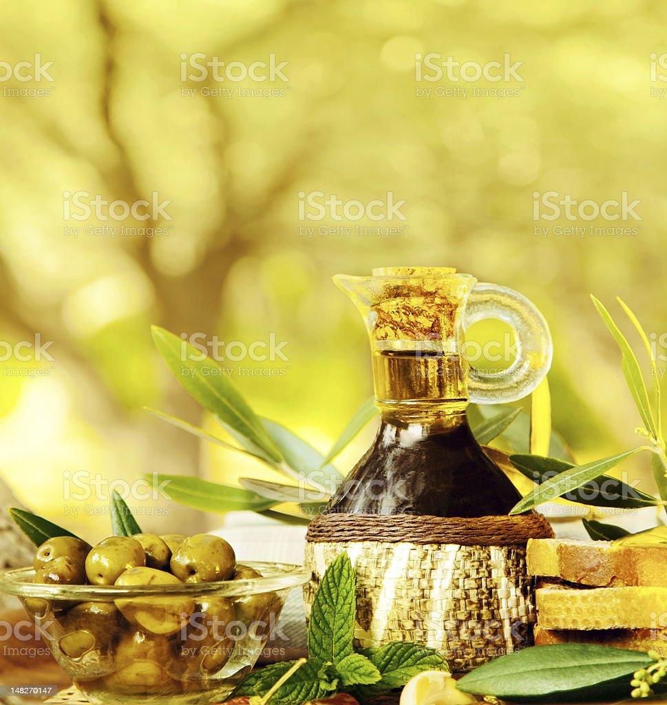 Olives still life royalty-free stock photo