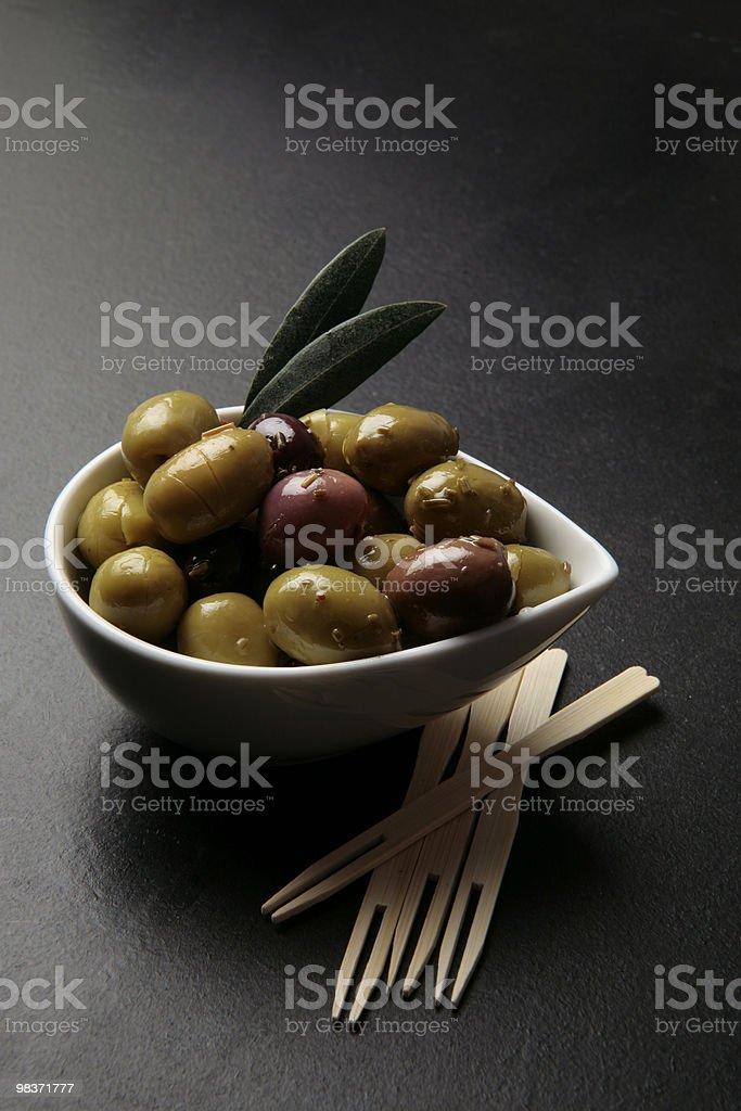 olives tapas royalty-free stock photo